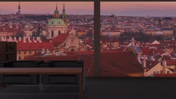 Ateliérový byt s ohledem na kultovní pražské panorama