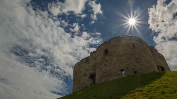 York hrad, Yorkshire, Anglie, Velká Británie