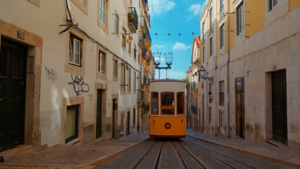 Elevador Da Bica Lisbon Portugal Stock Video C Fsamora 174515968