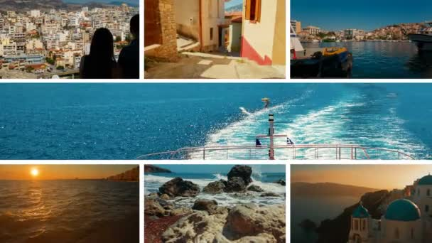 The Greece Collection - A video postcard of some of the most famous points of interest in Greece, including Mykonos, Santorini, Thassos, Delos, Kavala and Thessaloniki