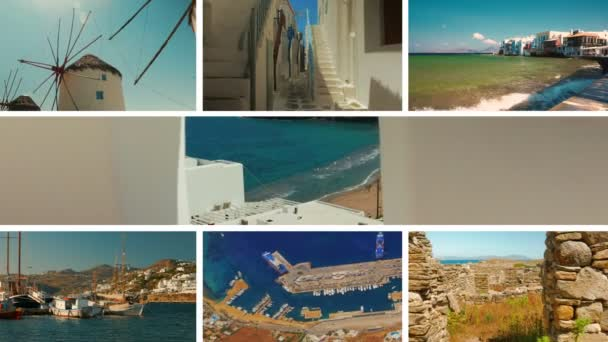 The Mykonos Collection - A video postcard of some of the most famous points of interest in the island of Mykonos, Greece