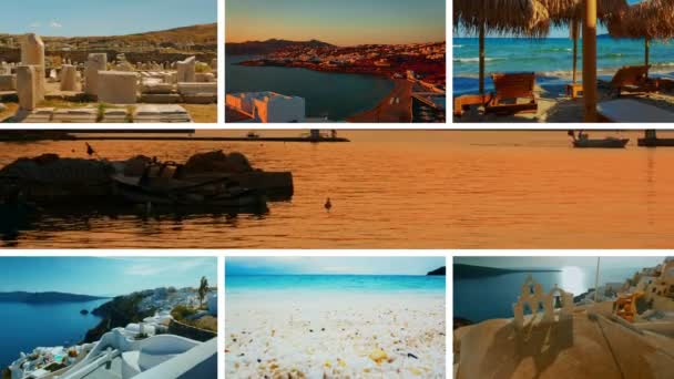 The Greece Collection - A video postcard of some of the most famous landmarks in Greece, including Mykonos, Santorini, Thassos, Delos, Kavala and Thessaloniki