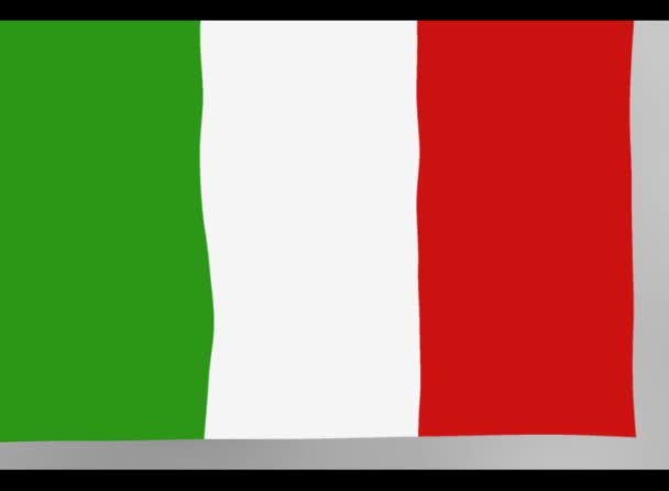 Italy flag with textures