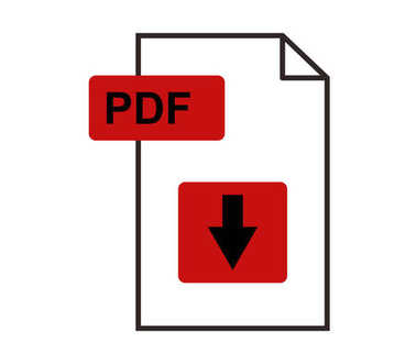 pdf download on a white background