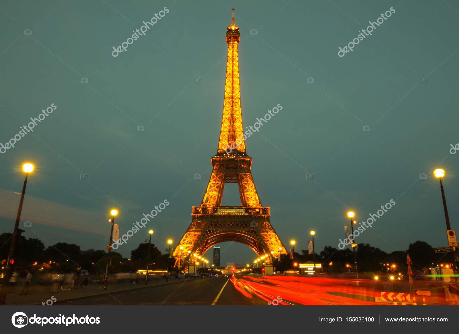 Fotos De Torre Eiffel Tour Paris Francia Iluminada