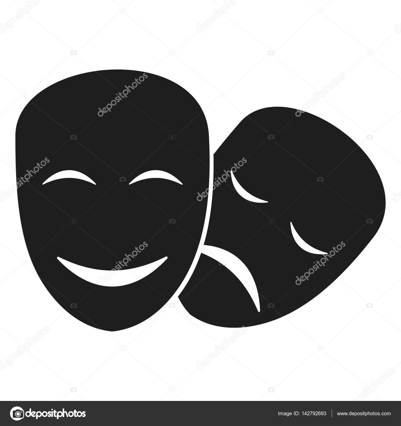 teatro m225scaras iconos � vector de stock 169 quarta 142792693