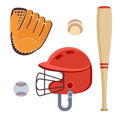 baseball equipment icons