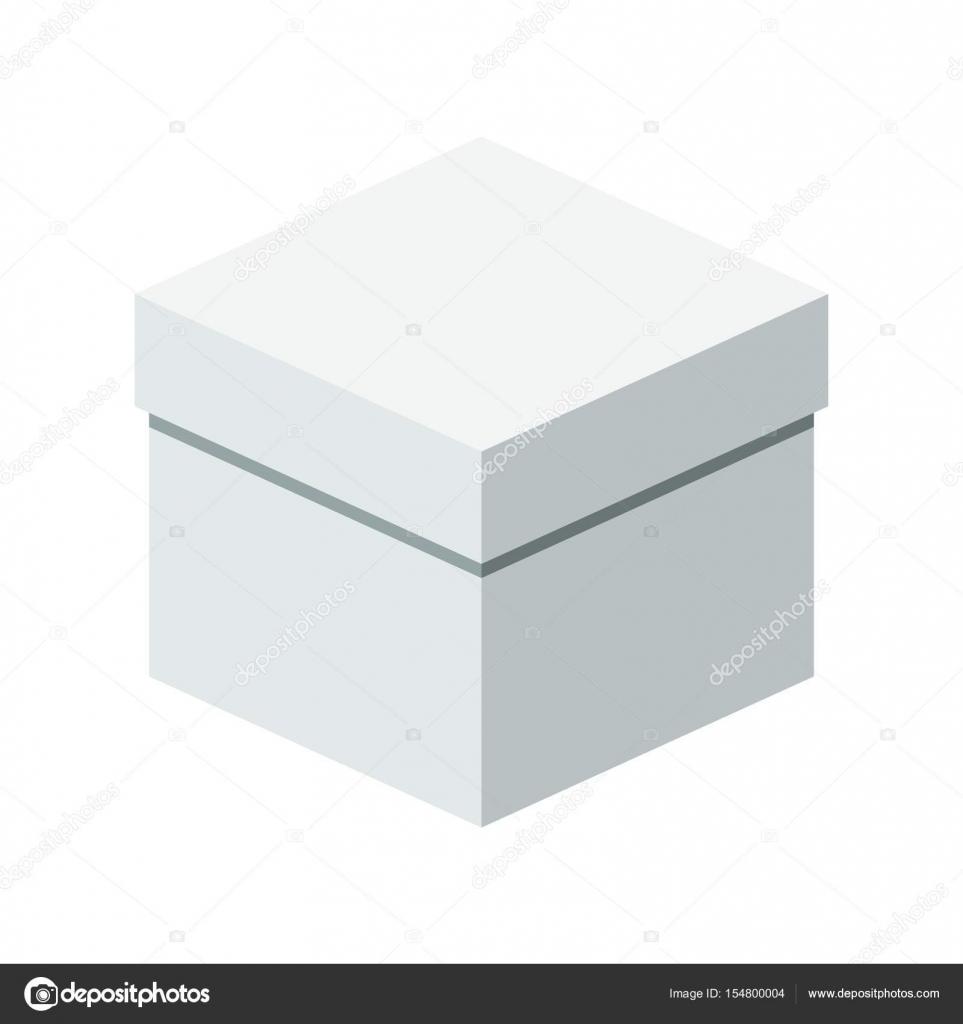 Vorlage-Geschenk-box — Stockvektor © quarta #154800004