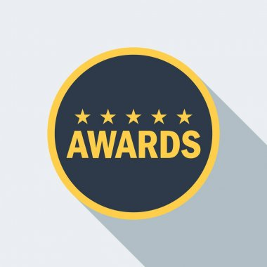 cinema star award icon