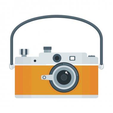 photo camera icon yellow