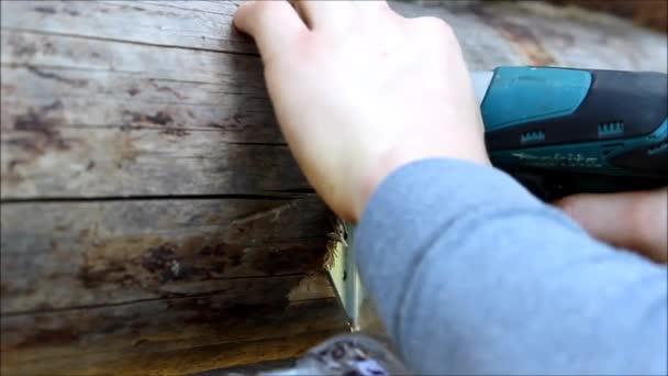 Montage Von Einem Holzrahmen Und Ein Haus Zu Bauen Russland Der