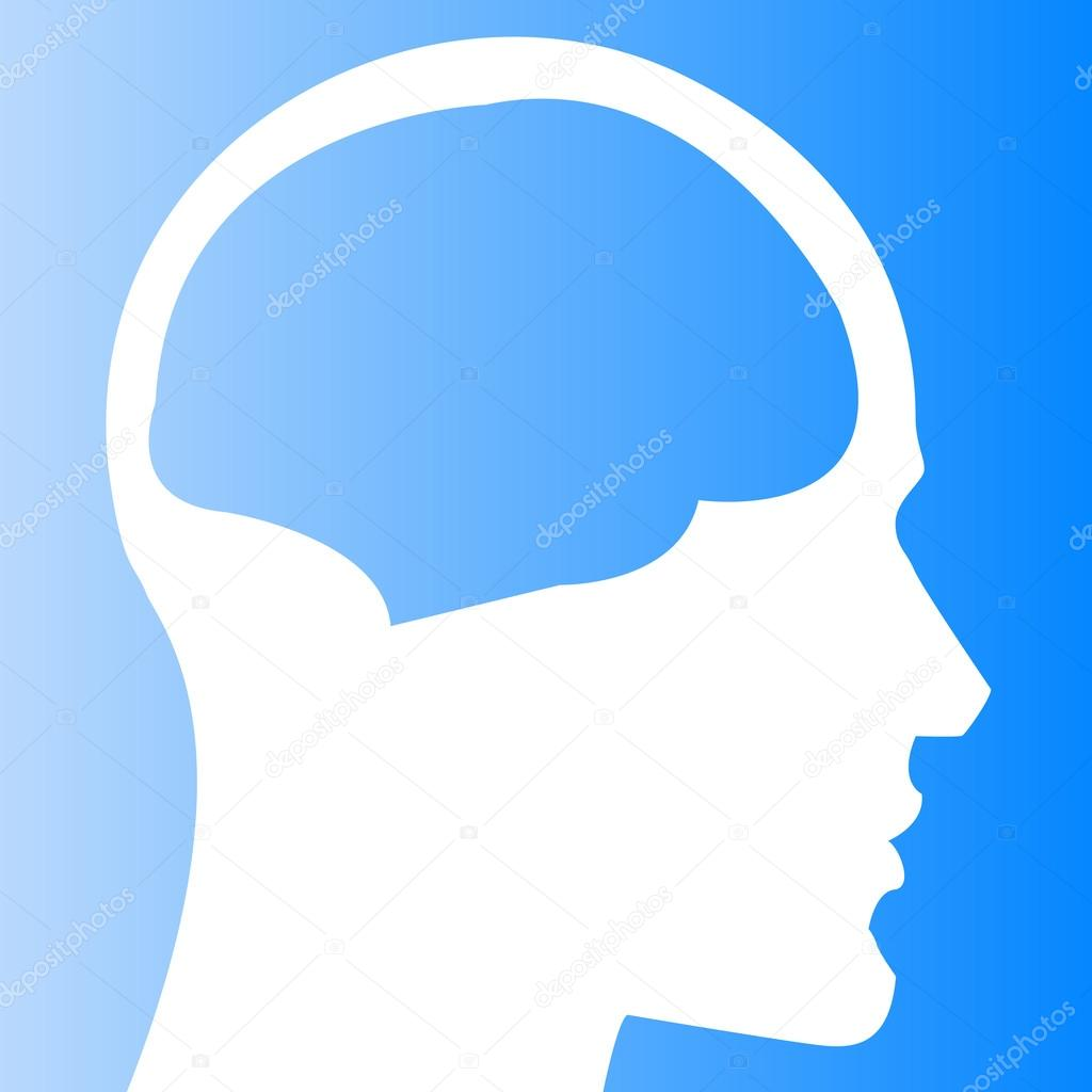 human head with brain template ストックベクター ryzhi 127455100