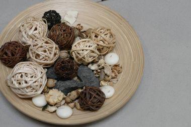 creative decoration made of natural materials