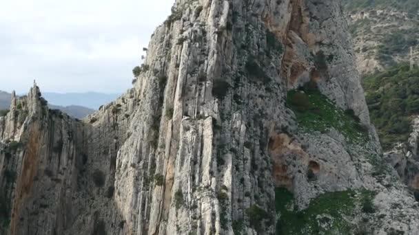 wunderschöne felsige landschaft des camino del rey atel chorro in andalusien in spanien