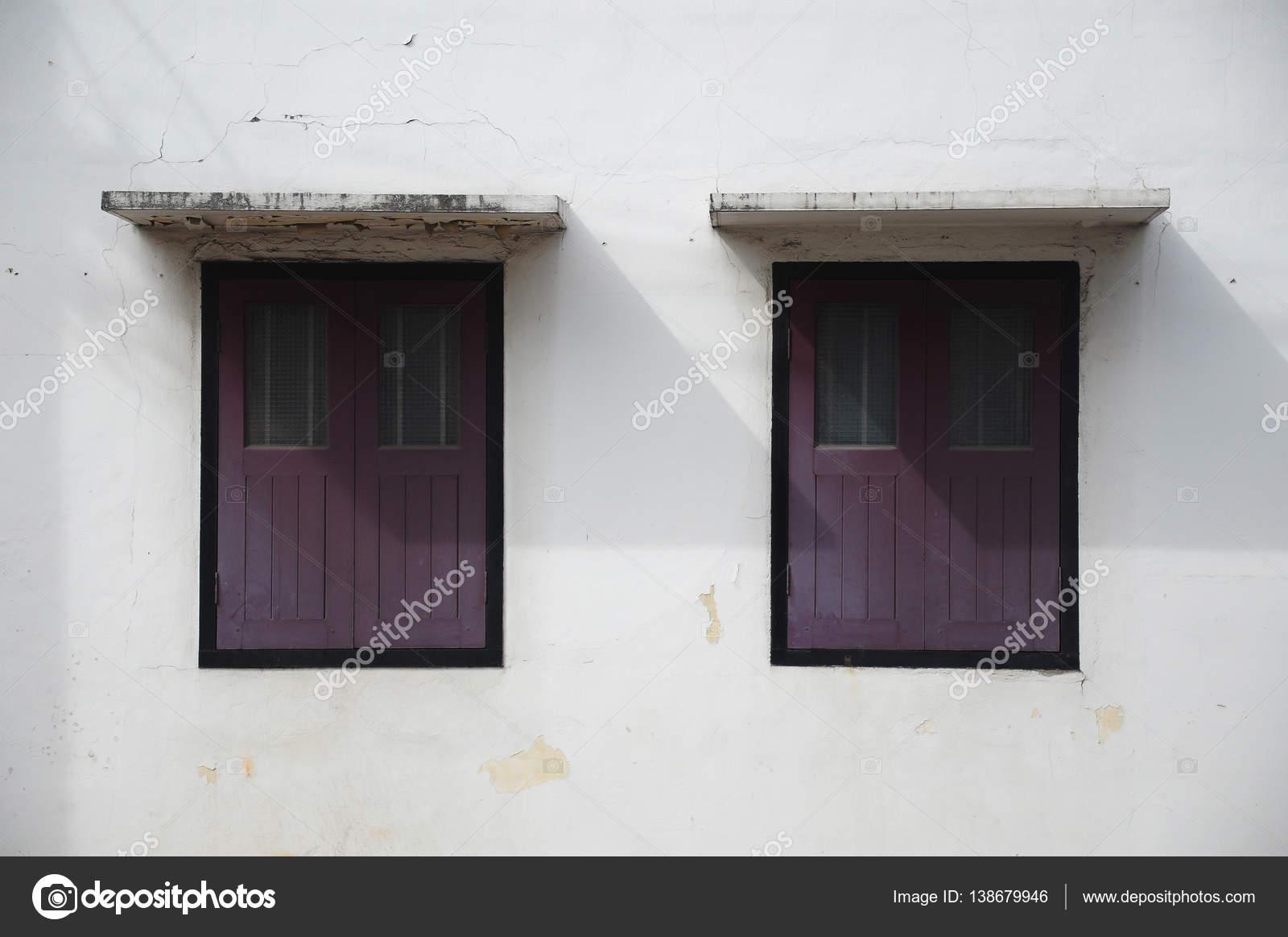 Old Awning Windows : Old style windows under awning — stock photo nakarinz