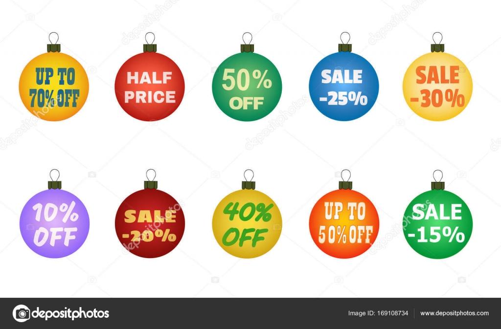 2d93e3efc31 Bolas de Navidad con ofertas promocionales. Ventas de Navidad. Adecuado  para tarjetas de descuento
