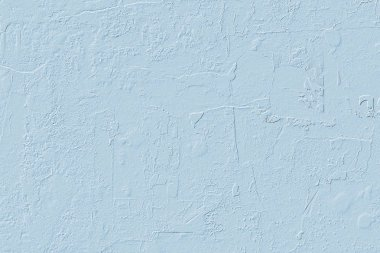 Computer 3D texture of light blue plastered wall.