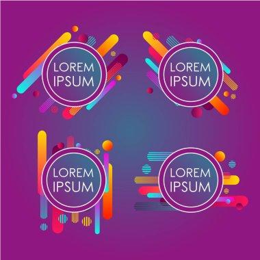 design of colored circles