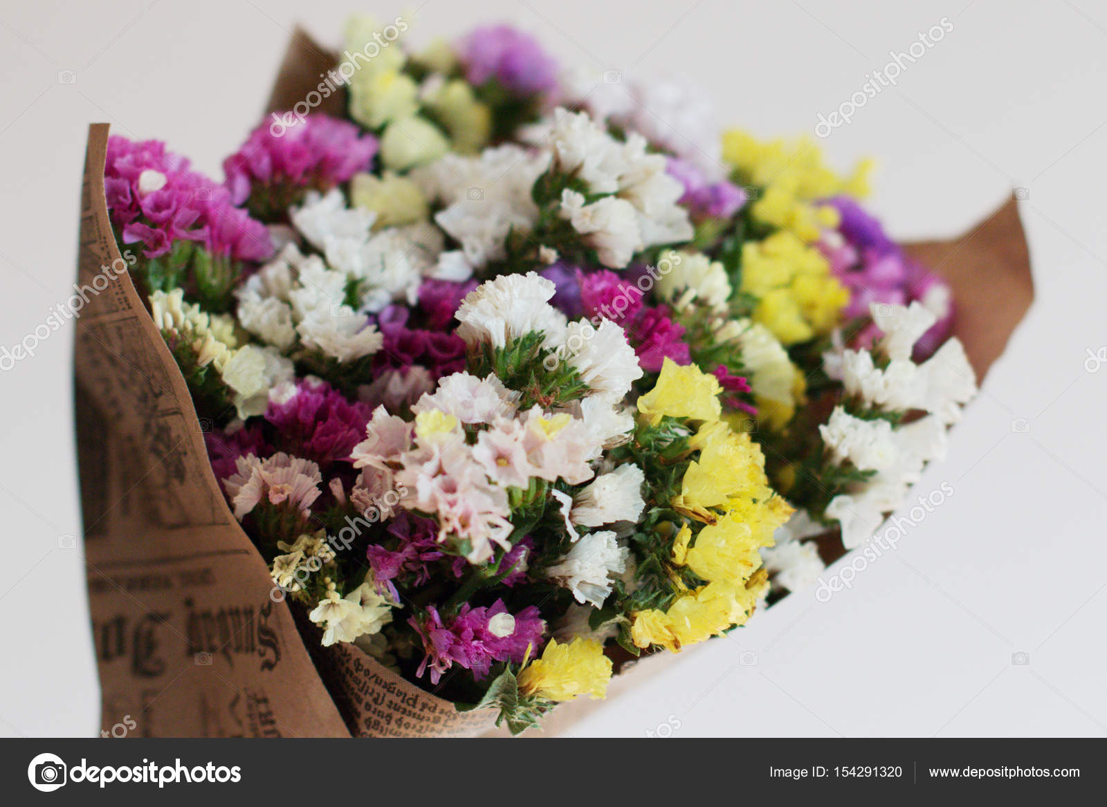Flowers To Gift Beautiful Bouquet Stock Photo Lee111pro 154291320