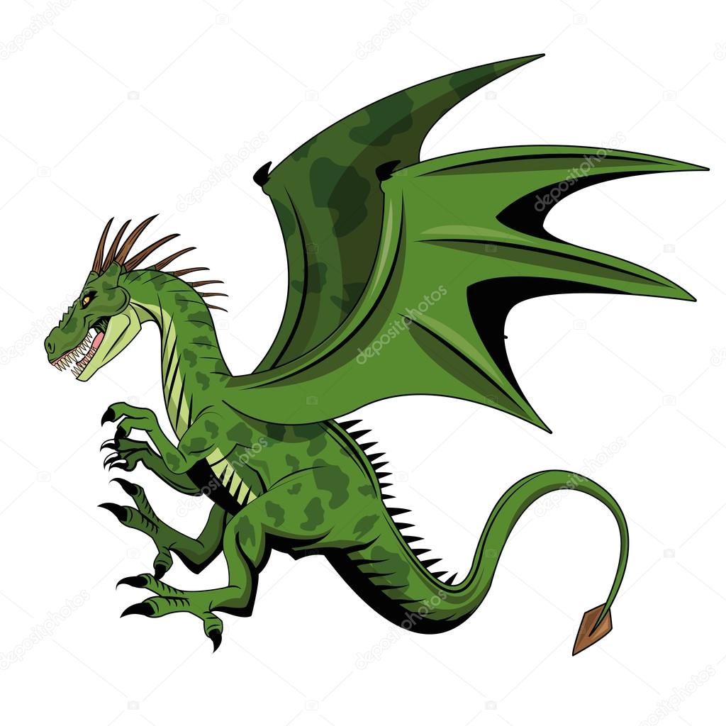 Conception de dessin anim animal de dragon image - Dessin dragon couleur ...