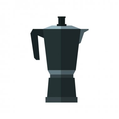 Isolated coffee kettle design