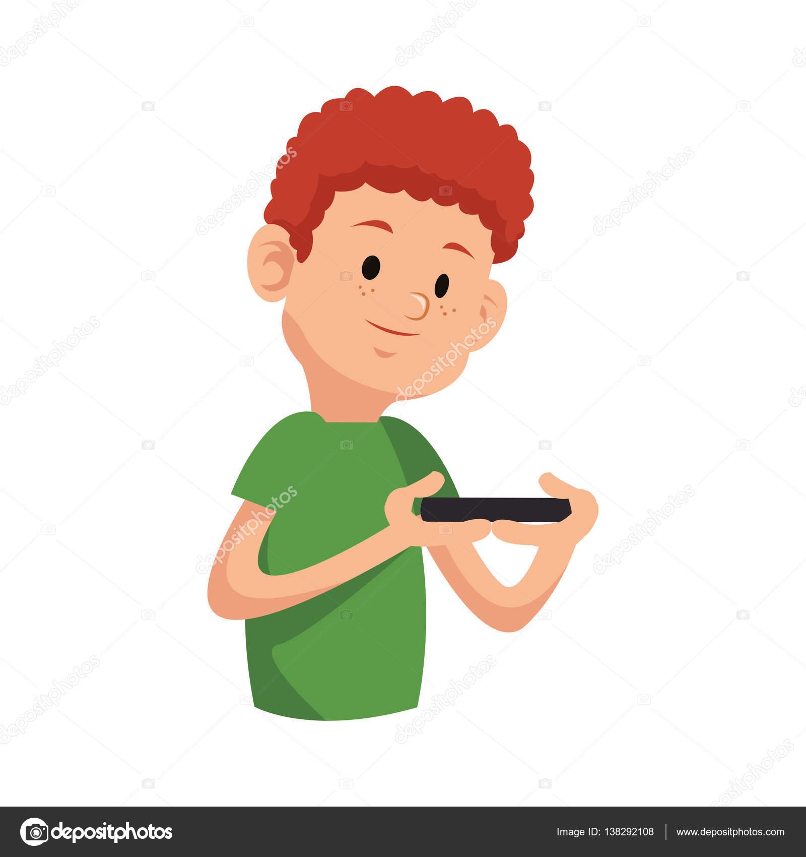 Icono De Dibujos Animados De Niños Archivo Imágenes Vectoriales