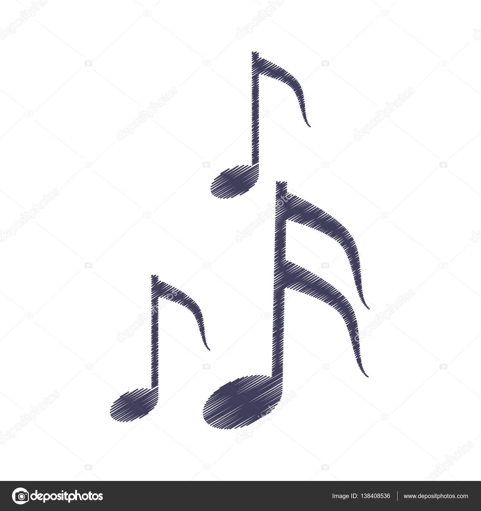 Music Sign Drawing Drawing Musical Note Melody Symbol