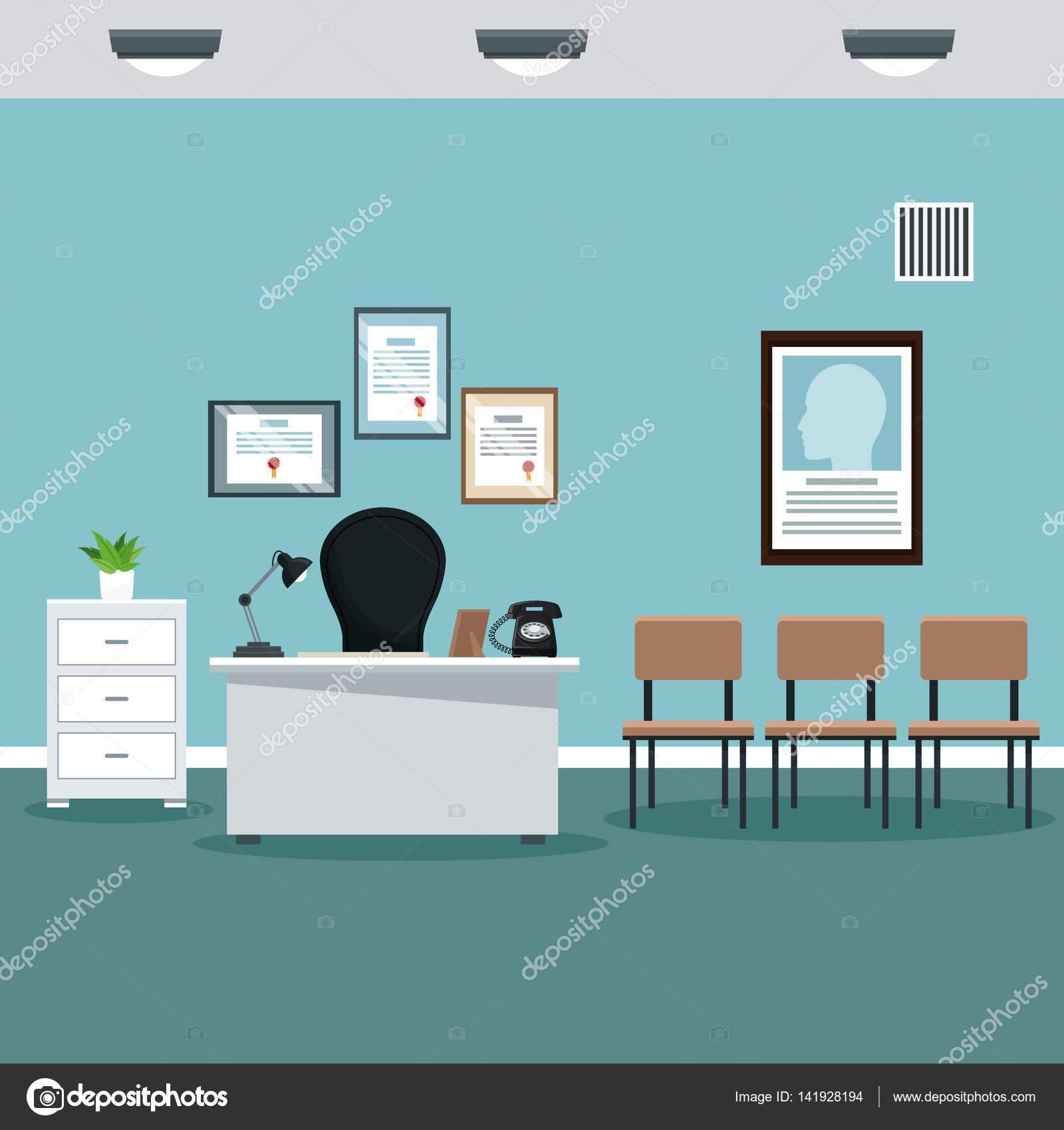 Stanza di ospedale medico ufficio professionale for Design stanza ufficio