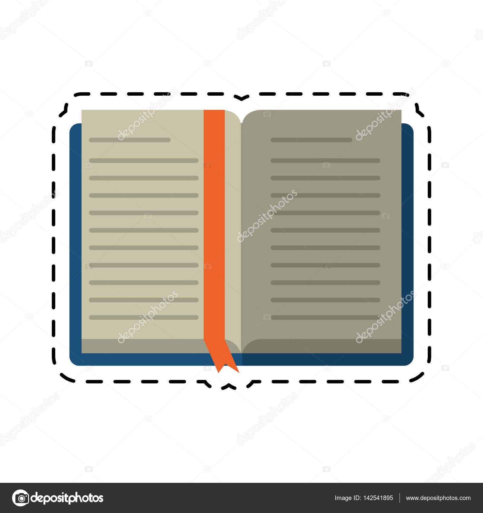 Bibliotheque De Dessin Anime Livre Ouvert Ecole D Apprentissage