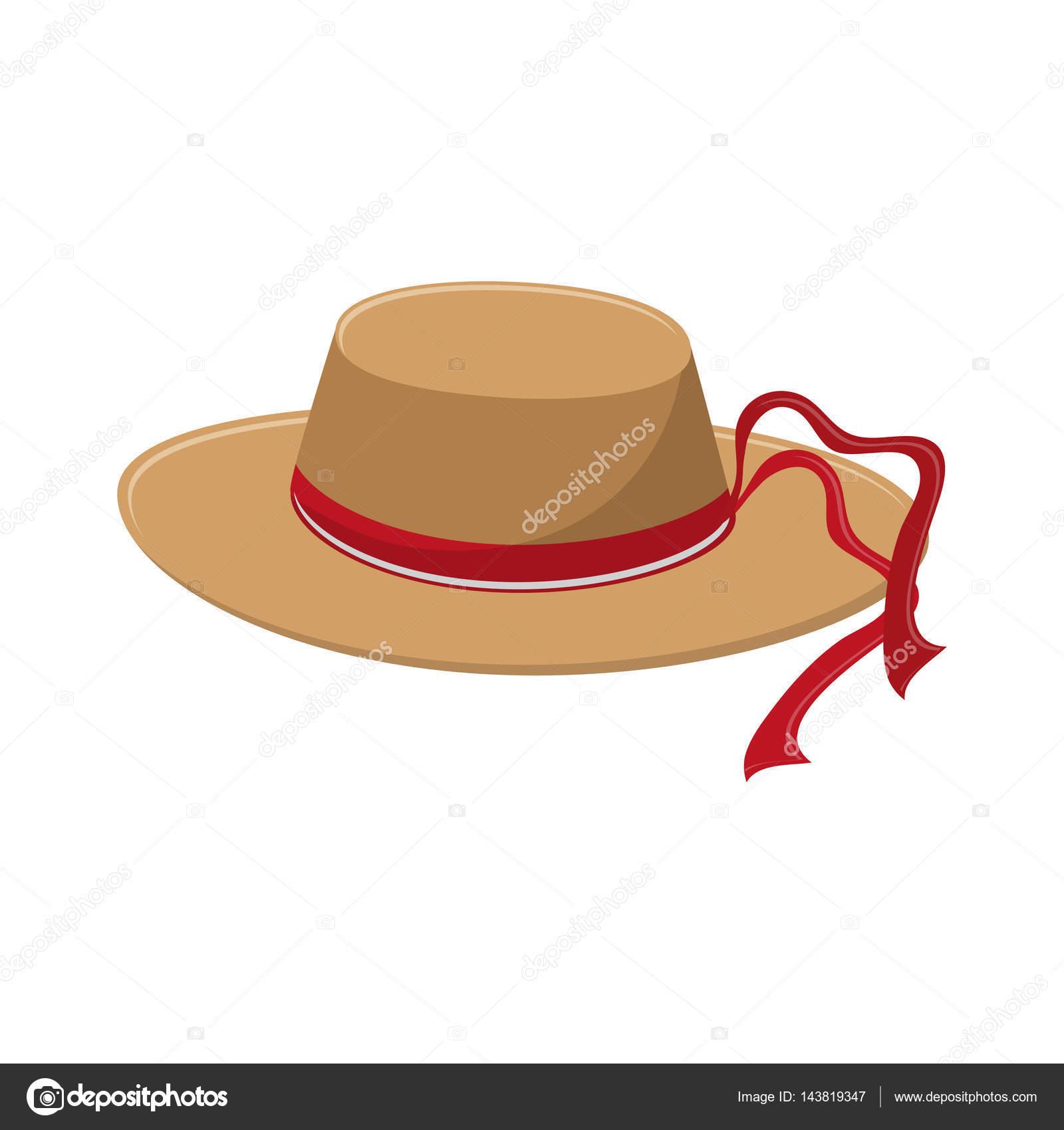 Icono accesorios sombrero sobre fondo blanco. diseño colorido. Ilustración  de vector - imágenes  formas de sombreros vaqueros — Vector de jemastock —  Vector ... 372d62e2cb5