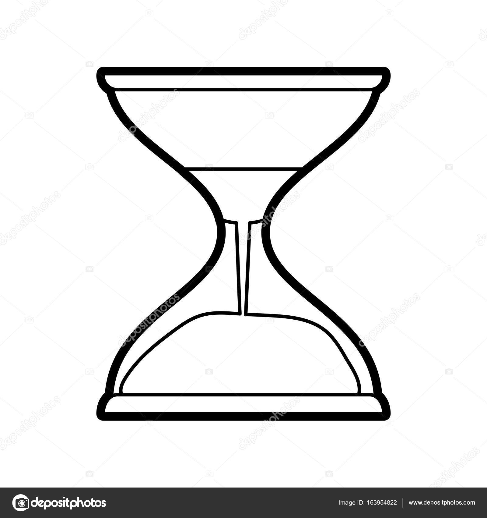 hourglass vector illustration stock vector jemastock 163954822 rh depositphotos com hourglass vector free download hourglass vector free download