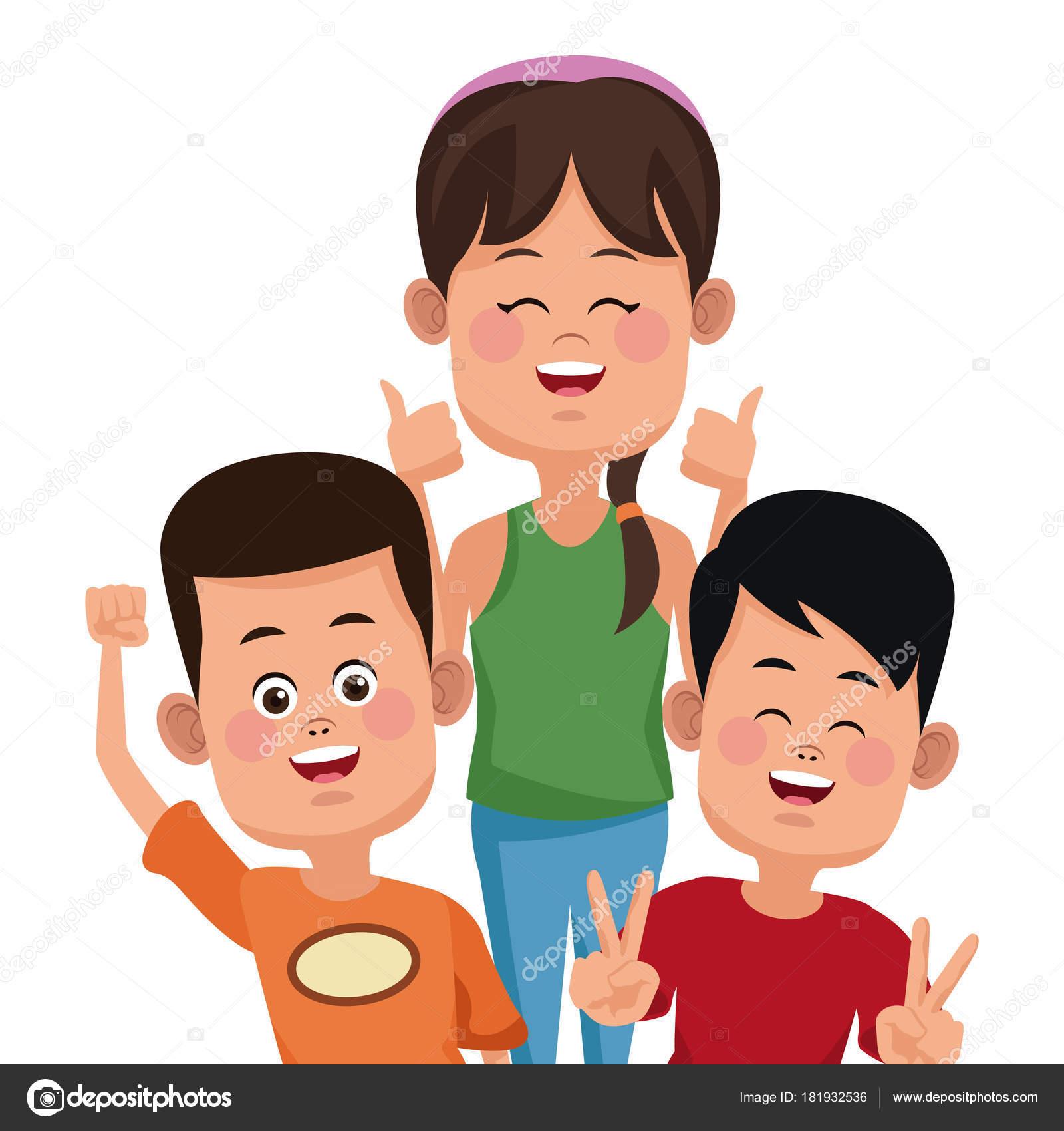 Dibujos: amigos animados | Amigos de los niños de dibujos