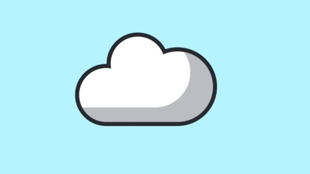 Downloading from cloud HD animation
