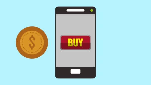 Koupit online rychlé občerstvení od smartphone Hd animaci