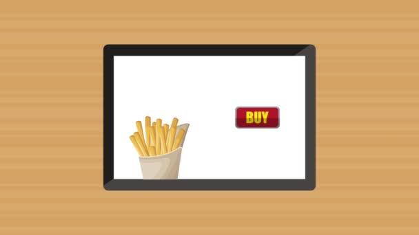 Prodám rychlé občerstvení online Hd animace animace Hd