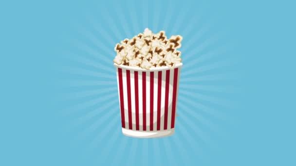 Pattogatott kukorica és a cinema Hd animáció