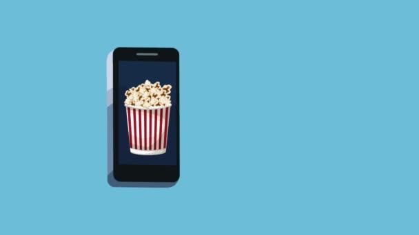 Rendelés élelmiszer online-ból smartphone