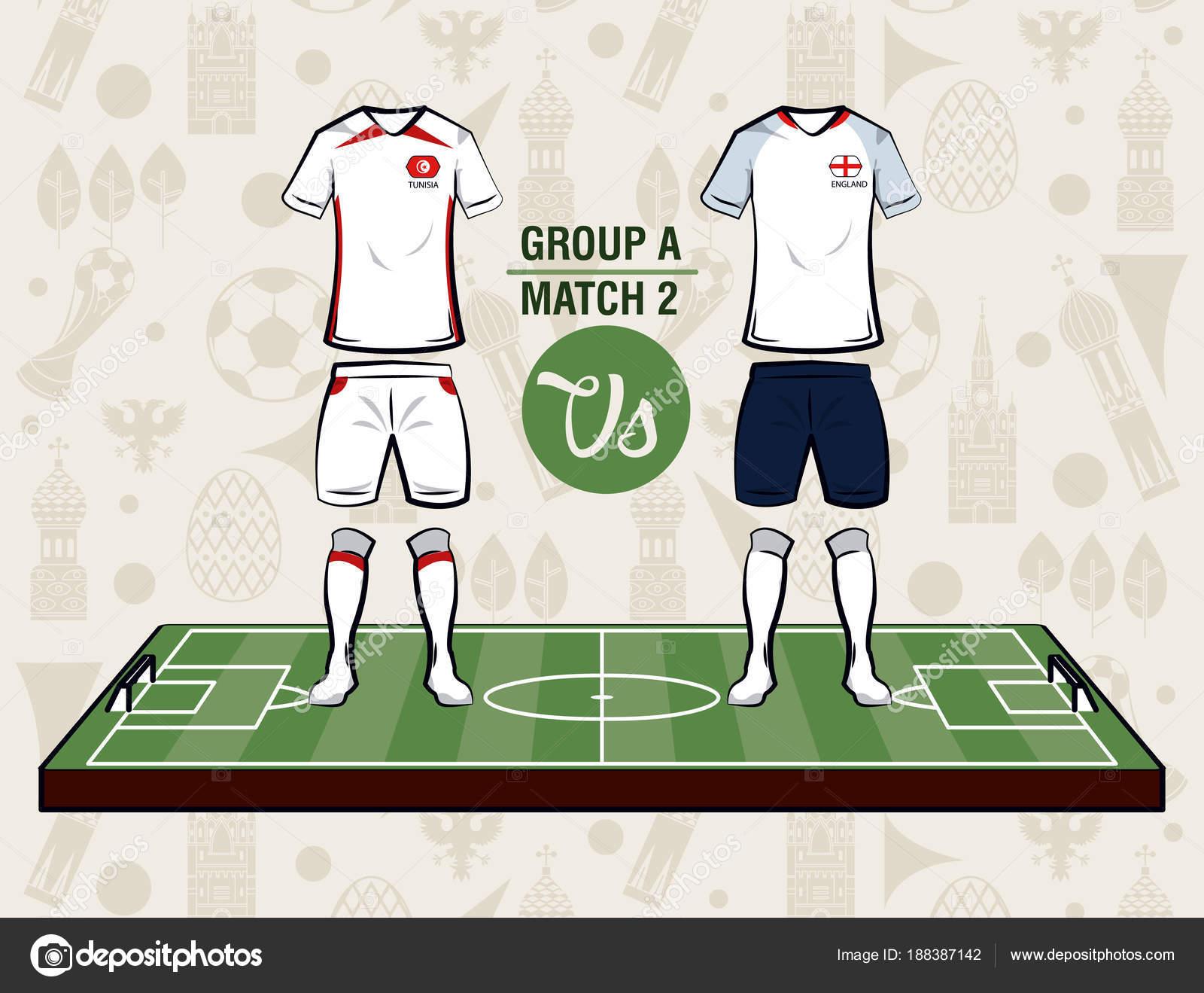 Football sport wear russia 2018 vector illustration graphic design — Vector  by jemastock 4232985c6