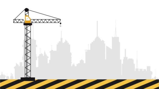 Stavební jeřáb s hák definice Hd