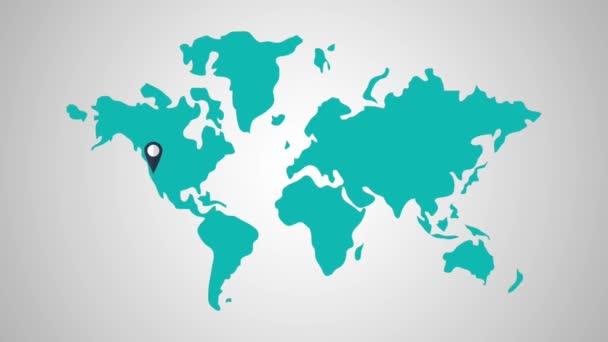 Svět cestování destinace Hd rozlišení