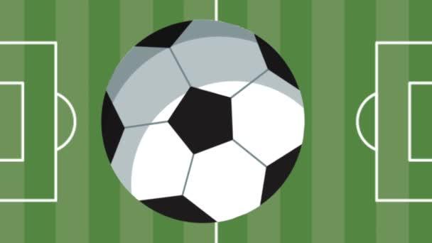 fotbalový tábor s balónem