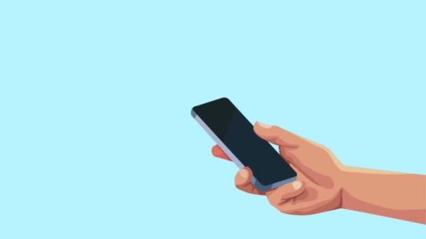 uživatel ručně s řečovou bublinu a e-mail