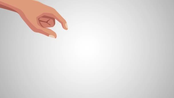 kézzel beállított alkalmazások felhasználói menü animációk