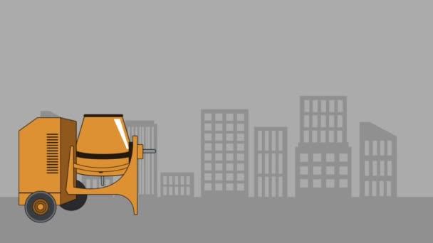 generatore del mouse con animazione dei personaggi concrete mixer