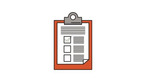Checkliste Klemmbrettpapier