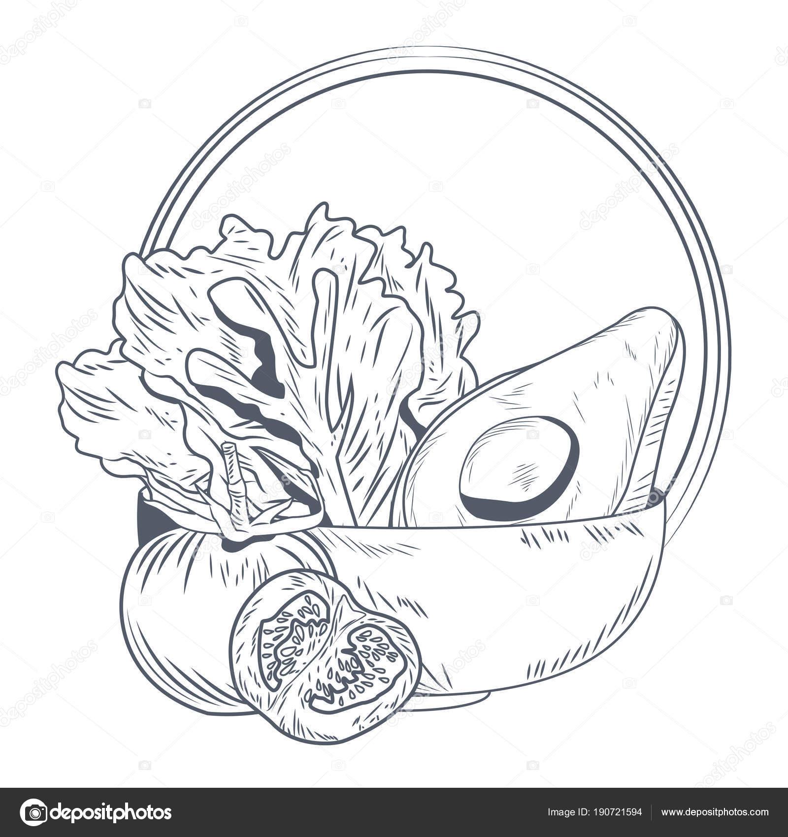 Imágenes Comidas Sanas Para Colorear Alimentos Sanos Y Frescos