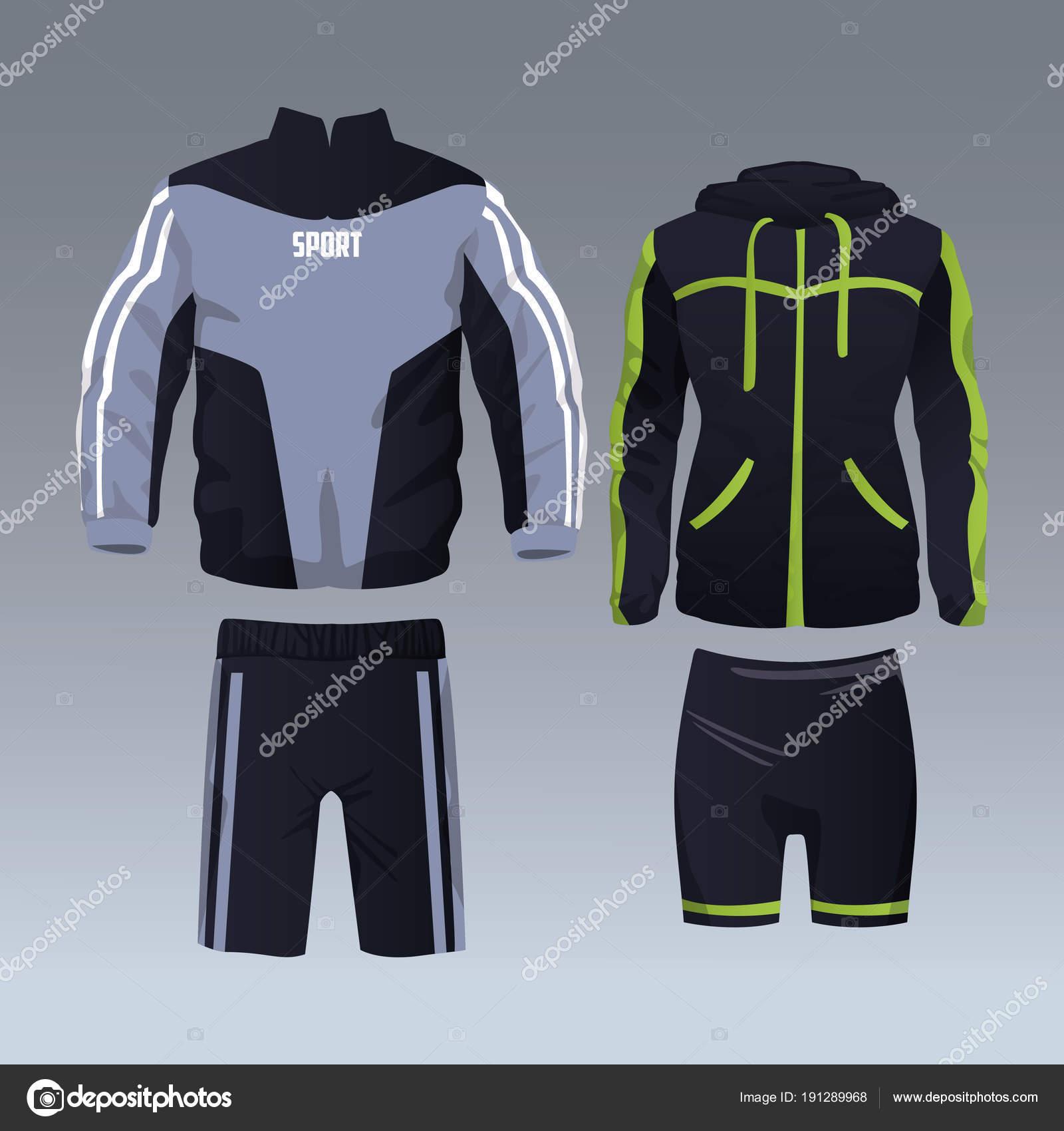calidad real gran variedad de estilos original de costura caliente Diseño de indumentaria deportiva | Conjunto de ropa ...