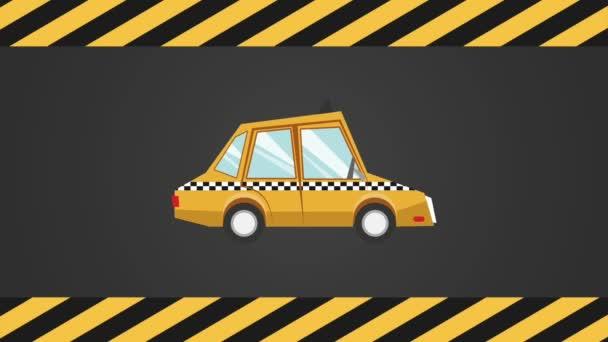 Taxi aplikace design Hd animaci
