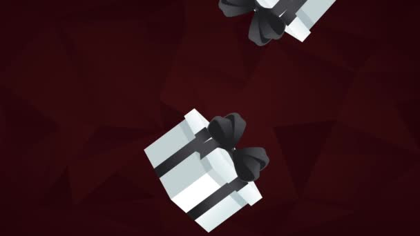 Gift boxes falling down hd animation stock video jemastock gift boxes falling down hd animation stock video negle Gallery