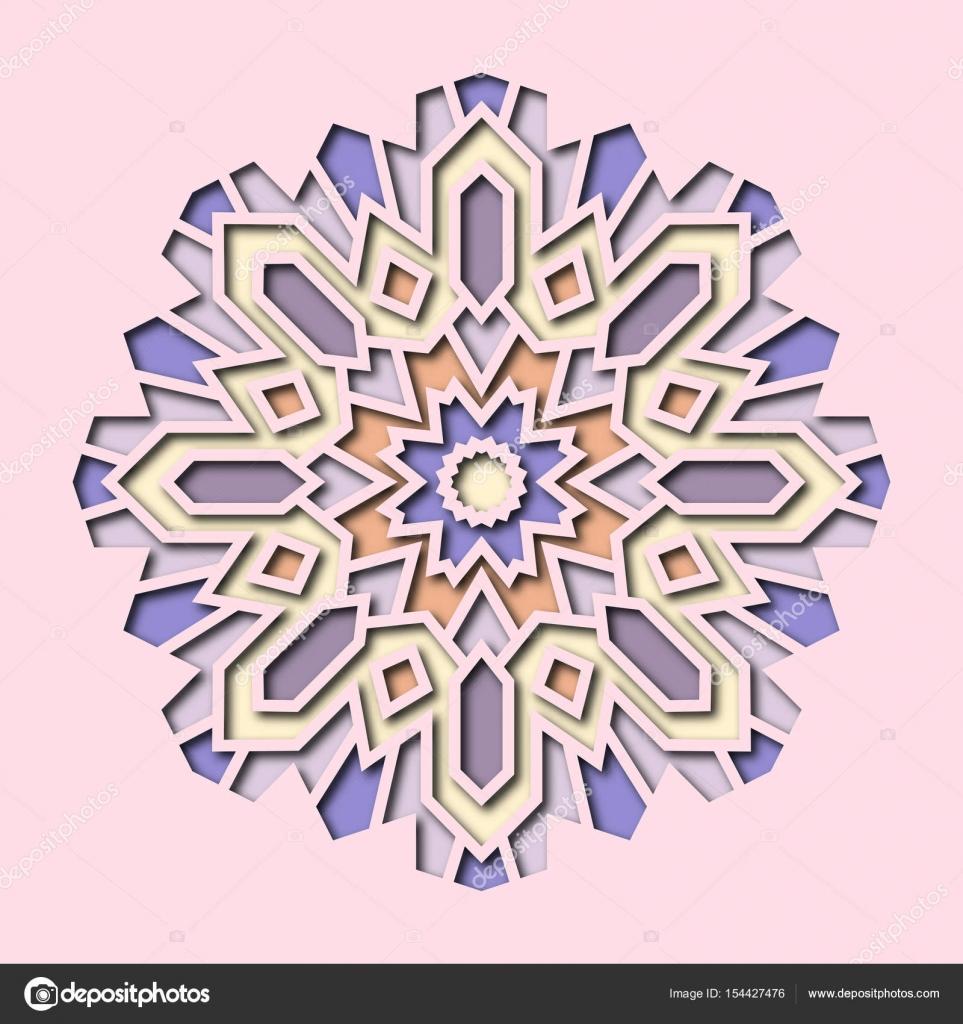 Invitation Cartes Avec Des Elements Ethniques Arabesque Dans Le Style Oriental Dessin De Visite Logo 3d Illustration Stock